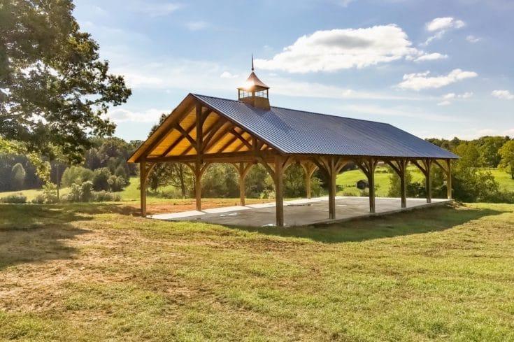 30×60 Kingston Timber Frame Pavilion